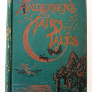 Andersen Fairy Tales very old book cover