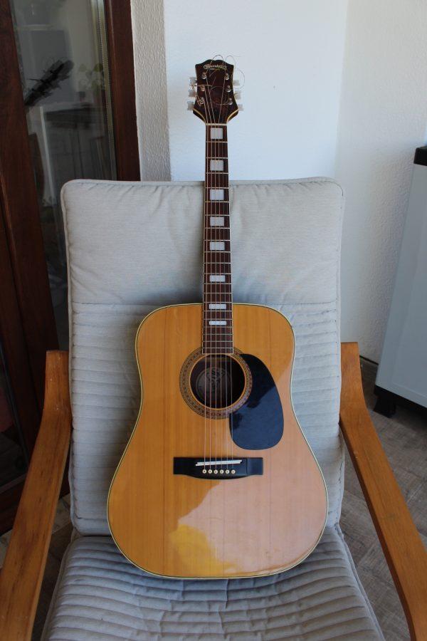 Kiso Susuki Acoustic Guitar Model WE-200 1971