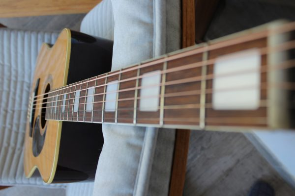 Kiso Susuki Acoustic Guitar Model WE-200 1971