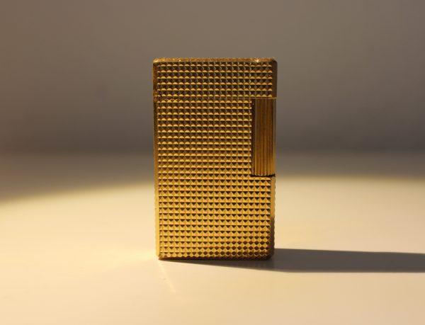 Vintage Dupont Golden Lighter